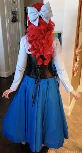 Ariel Costume Halloween Glitzy Geek Tutorial Mermaid Ariel Cosplay