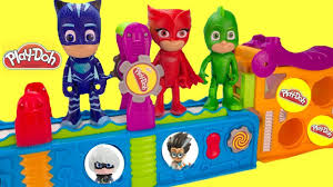 disney jr pj masks play doh mega fun factory magical toy