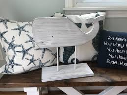 Nautical Metal Wall Art Great by Whale Sign Whale Decor Nautical Decor Whale Wall Art