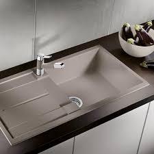 evier cuisine design évier etagon 500 alumétallic blanco espace aubade