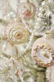 Pink And Pearl Christmas Decorations by Vintage Pink Christmas Ornaments Pictures Photos And Images For