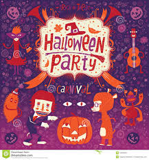 happy halloween party and
