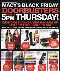 amazon black friday 2016 when macy u0027s black friday ad scans