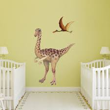 giant gallimimus wall sticker see how to make a dinosaur wall mural gallimimus dinosaur wall decal sticker gallimimus dinosaur wall decal sticker