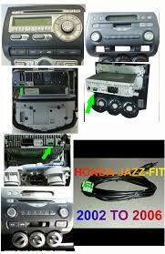 honda jazz fitt radio removal youtube