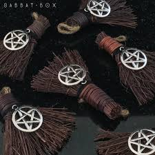 cinnamon broom besom yule ornament sabbat box