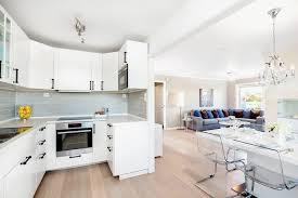 cuisine en l ouverte sur salon salon avec cuisine ouverte usaginoheya maison