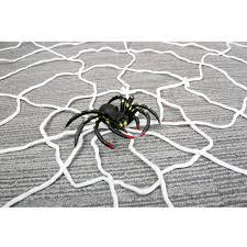 halloween indoor outdoor giant nylon spiders web decoration spider