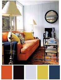 Best Colors With Orange Best 25 Orange Sofa Ideas On Pinterest Orange Sofa Design