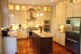 platinum kitchens double stacked upper cabinets with glass and