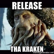 Release The Kraken Meme Generator - release tha kraken davy jones meme generator