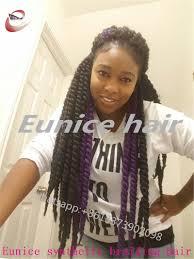 Black Hair Styles Extensions by Aliexpress Com Buy Crochet Black Braiding Curly Hair Havana