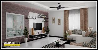 tag for new home interior designs in kerala west facing site