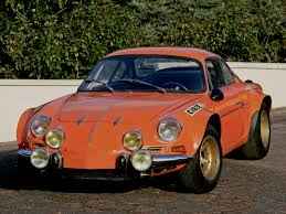 renault alpine a110 rally foto of the day orange iedei