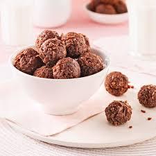 chocolat cuisine boules au chocolat recettes cuisine et nutrition pratico