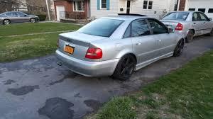 silver audi s4 2001 silver audi s4 base sedan 4 door 2 7l stage 2 apr lowered
