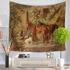 indian unicorn horse mandala tapestry wall hanging bohemian indian unicorn horse mandala tapestry wall hanging bohemian