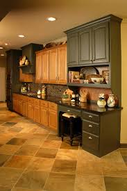 Kitchen Remodel Using Existing Oak Cabinets Traditional - Kitchen designs with oak cabinets