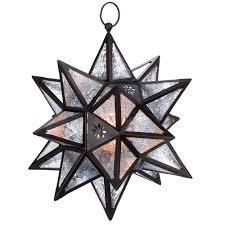 Home Decor Star by Hanging Moroccan Star Lantern Wholesale At Koehler Home Decor