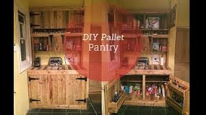 kitchen cabinets from pallet wood diy pallet pantry thehomesteadingboards