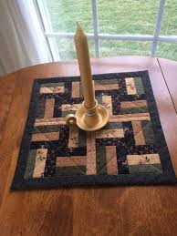 quilted square table toppers gold beige black green pieced and quilted square table runner