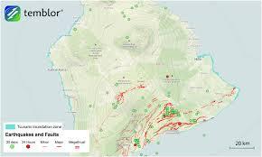 Map Of Big Island Hawaii M U003d4 5 Earthquake Highlights Hawaii U0027s Tectonic Past Present And