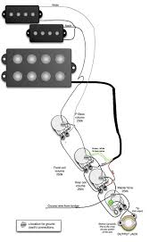 guitar wiring diagrams 2 pickups on bass pickup lively diagram and