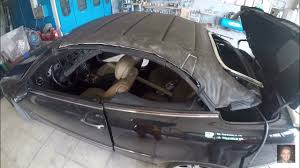 mercedes benz clk cabriolet 2002 u20132009 soft top removal and