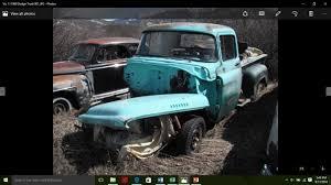 Vintage Ford Truck Salvage Yards - ebay 1960 dodge other pickups 1960 dodge pickup truck 2 door