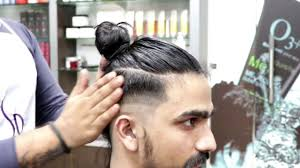 top knot mens hairstyles 2017 disconnected undercut man bun hairstyle top knot mens