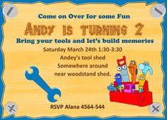 lynnetteart handy manny or bob the builder toolbox birthday party