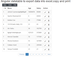 how to copy table from pdf to excel angular datatable to export data into excel csv pdf print and