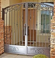 Patio Door Gate Security Door Steel Security Gates Patio Security Gates Houston