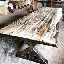 reclaimed wood dining table nyc harvest tables reclaimed wood furniture pinteres awesome rustic 0
