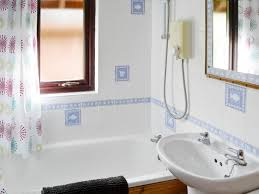 helm s deep ref w41598 in sandyhills near colvend dumfries and bathroom with shower over bath helm s deep sandyhills near colvend