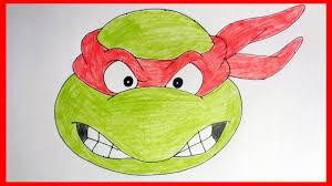 draw ninja turtles 1987 raphael
