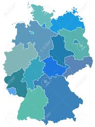 Maps Germany by Silhouette Map Of The Germany Federation Source Of Map Http