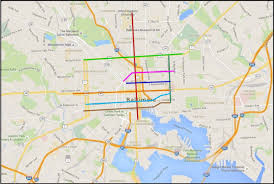 Boston Bike Map by A Complete Streets Model For Baltimore Smart Growth Online