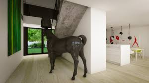 horse lamp interior design ideas