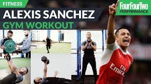 alexis sanchez snapchat the alexis sanchez gym workout strength and conditioning youtube