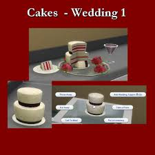 wedding cake the sims 4 leniad s cupboard sims 4 studio