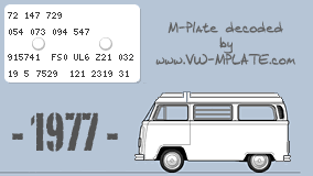 vw mplate com vw combi t2 bay window m plate decoder