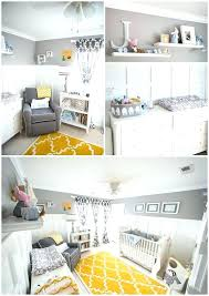Yellow Gray Nursery Decor Yellow And Grey Baby Room Yellow And Gray Elephant Baby Nursery
