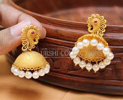 gold plated earrings lovely designer gold plated earrings earrings