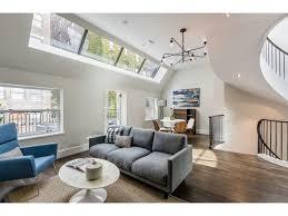 Open Floor Plans With Lots Of Windows Hans Wegner Shell Chair Gray Sofa Mid Century Moder Open Floor