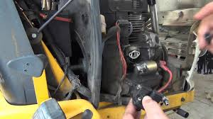 13hp kohler command ohv fuel pump replacement youtube