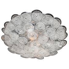 mid century flush mount lighting mid century modern flush mount chandelier with handblown murano