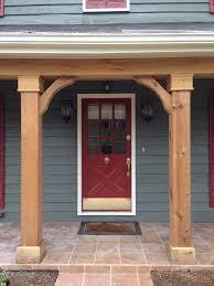 Curb Appeal Front Entrance - best 25 front porch columns ideas on pinterest front porch