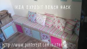 ikea expedit bench hack u2013 shabby chic mumsee u0027s blog