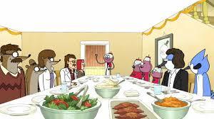 image s05e12 thanksgiving dinner jpg regular show wiki